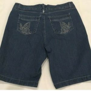 Just My Size Stretch Blue Jean Shorts 18W